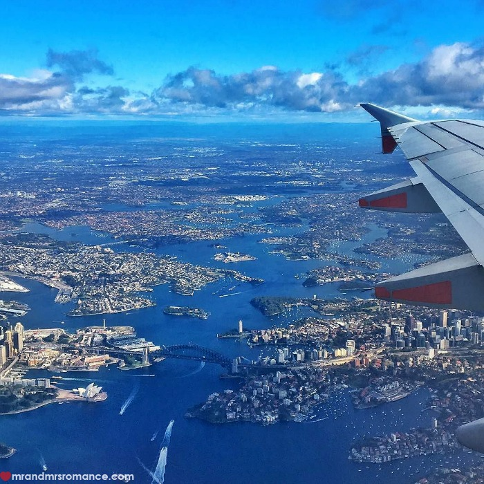 Mr & Mrs Romance - IG Edition - 2 flying out of Sydney