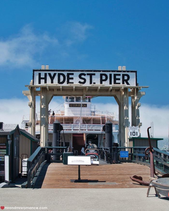Mr & Mrs Romance - IG Edition - 54 Hyde Park Pier San Fran