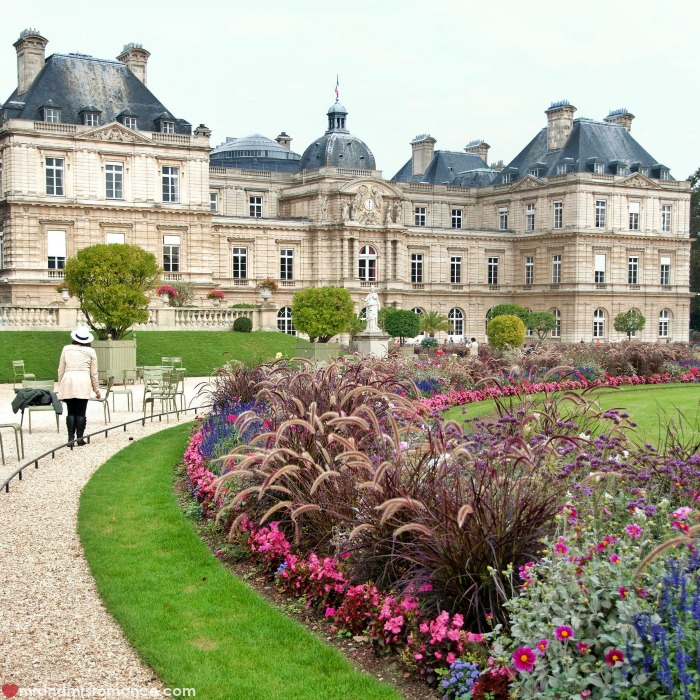 Mr & Mrs Romance - IG Edition - 54 Paris garden