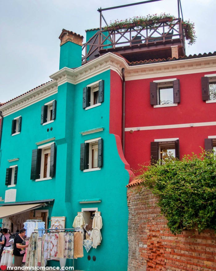 Mr & Mrs Romance - IG Edition - 55 Burano colours