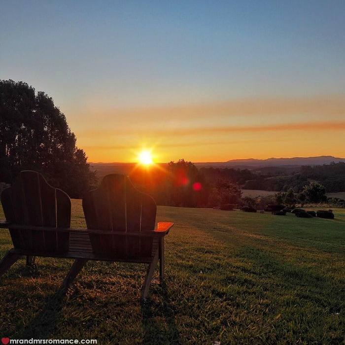 Mr & Mrs Romance - IG Edition - 6 sunset at Gaia
