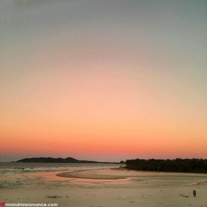 Mr & Mrs Romance - IG Edition - 9 sunset at Elements