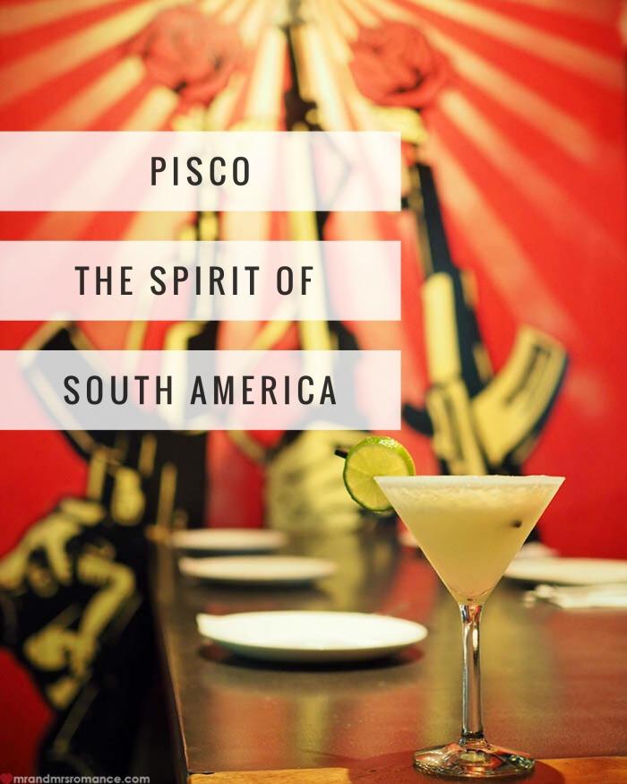 Mr & Mrs Romance - Pisco and La Puerta - 1 title