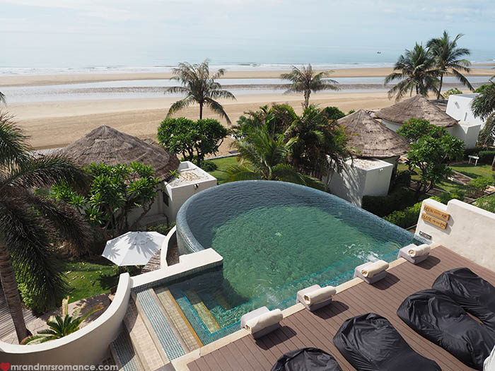 Mr and Mrs Romance - Aleenta Hua Hin Review - Eco Luxe Thailand Resort