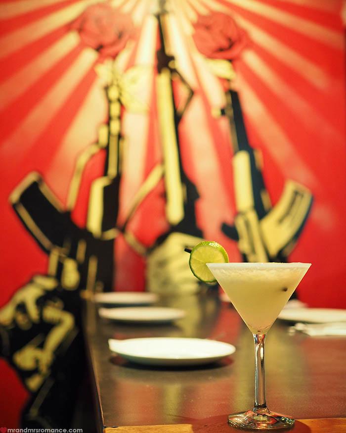 Mr and Mrs Romance - Pisco cocktail Month at La Puerta Sydney