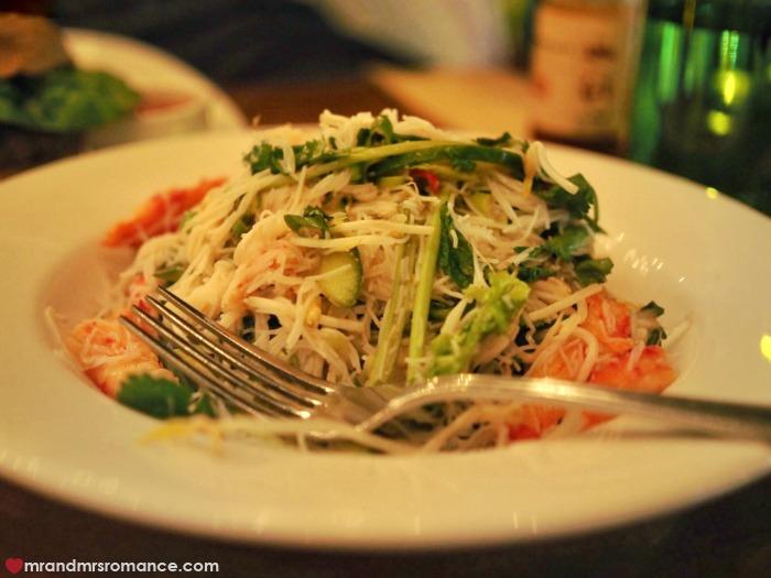 Mr & Mrs Romance - best food in Byron Bay - Balcony