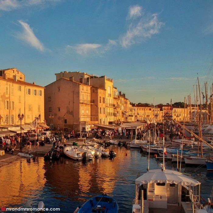 Mr & Mrs Romance - IG Edition - 5 St Tropez at sunset