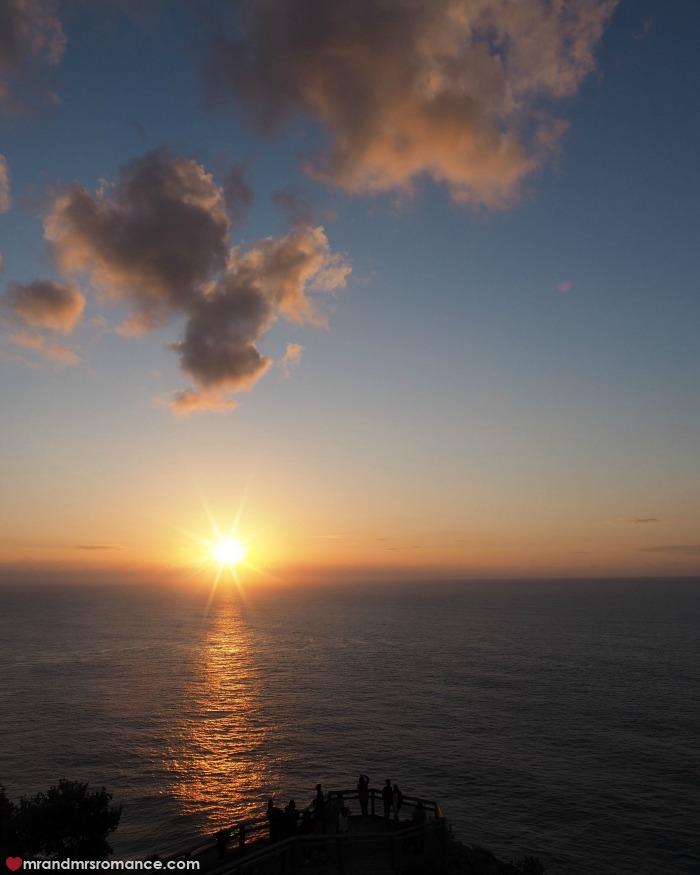 Mr & Mrs Romance - IG Edition - 5 sunrise at Cape Byron Lighthouse