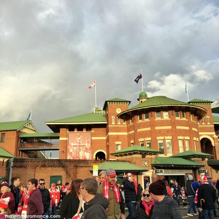 Mr & Mrs Romance - IG Edition - 9 Sydney Swans