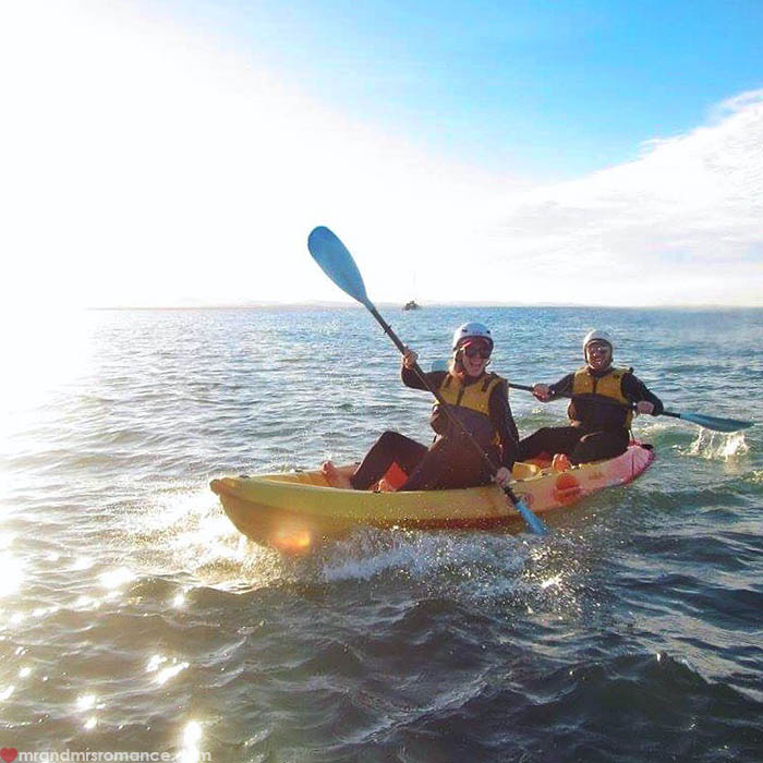 Mr & Mrs Romance - Things to do in Byron Bay - Go Sea Kayaks