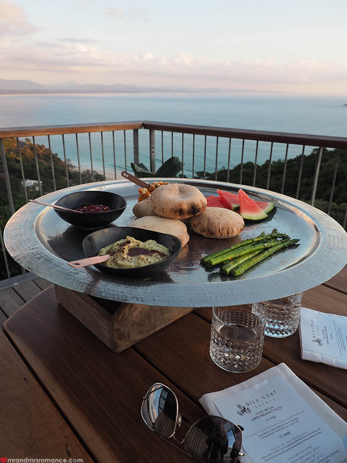 Mr & Mrs Romance - Things to do in Byron Bay - Wild Goat Events sunrise breakfast