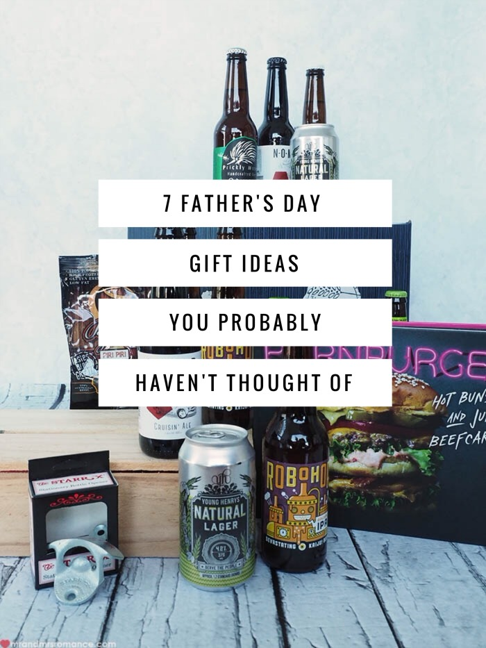 Mr & Mrs Romance - unique gifts Fathers Day - title