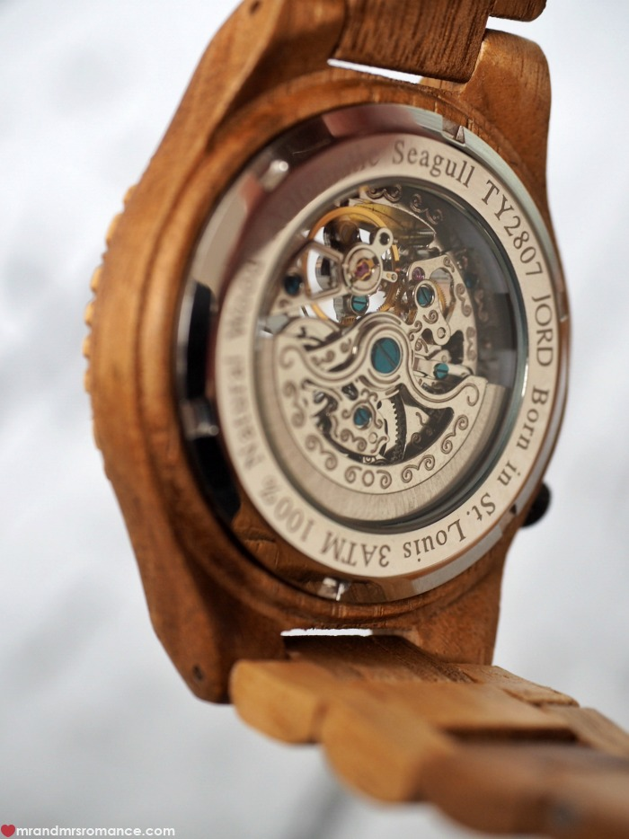Mr & Mrs Romance - unique gifts for Father's Day - Jord watch
