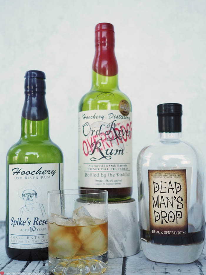 Mr and Mrs Romance - Fathers Day gift idea - Australian craft rums