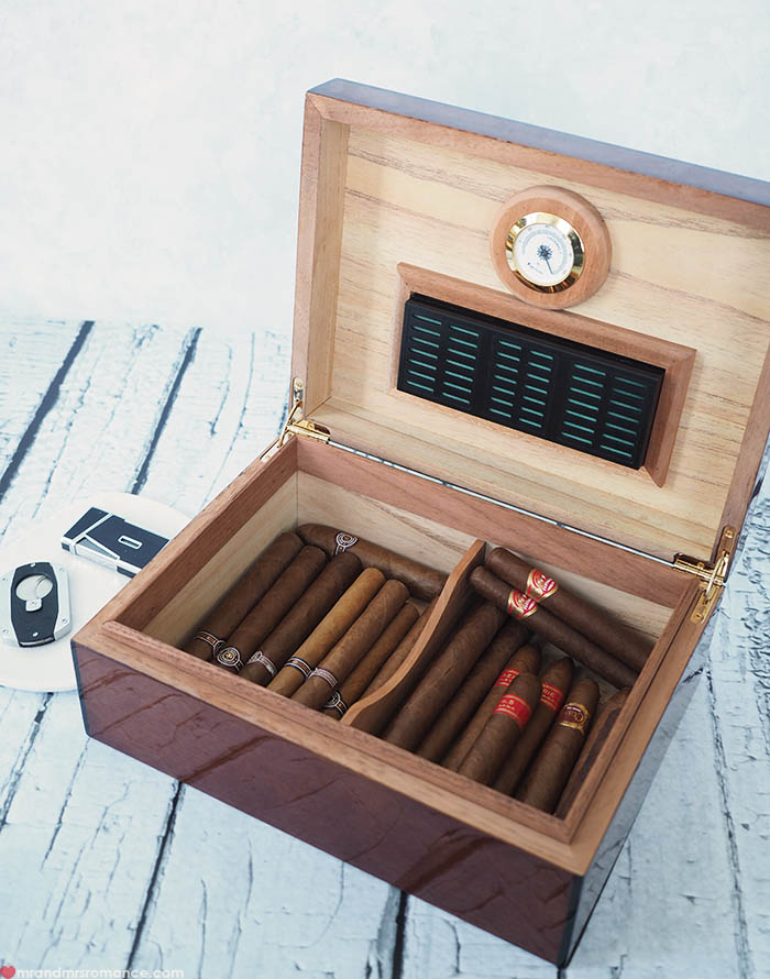 Mr and Mrs Romance - Fathers Day gift idea - Cuban cigars