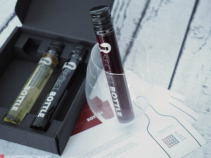 Mr and Mrs Romance - Fathers Day gift idea - Secret Bottle Wines