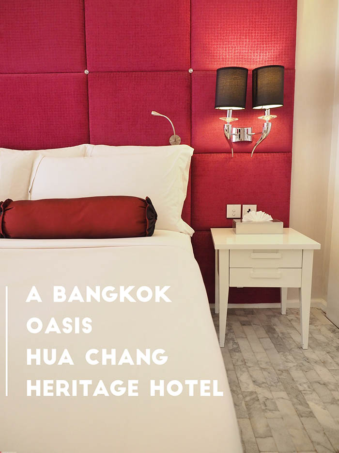 Mr and Mrs Romance - Hua Chang Heritage Hotel Review - Bangkok Oasis