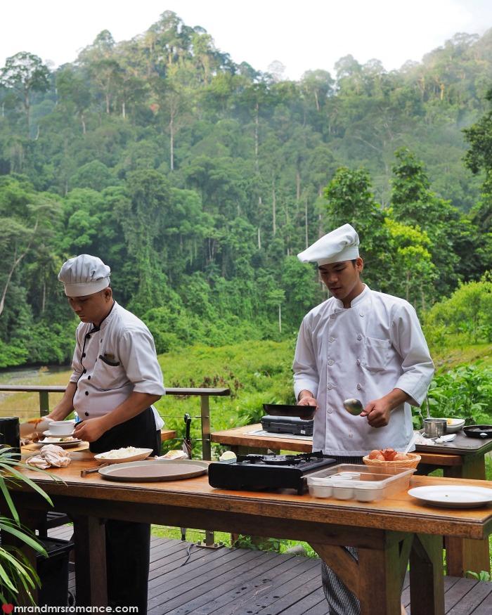 Mr & Mrs Romance - IG Edition Sabah - 22 breakfast in Danum Valley