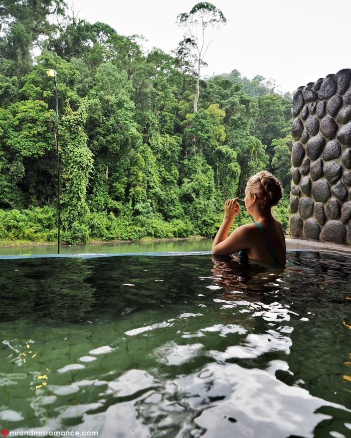 Mr & Mrs Romance - IG Edition Sabah - 23 private pool Danum Valley
