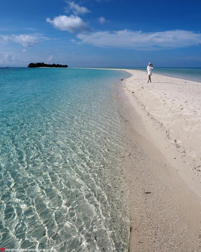 Mr & Mrs Romance - IG Edition Sabah - 26 sand causeway Mataking Island