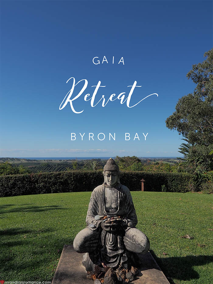 Mr and Mrs Romance - Gaia Retreat Review Byron Bay NSW