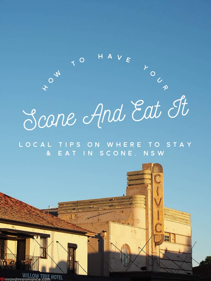 Mr And Mrs Romance Guide To Scone Nsw