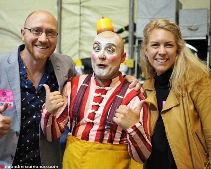 Mr & Mrs Romance - Cirque du Soleil Kooza - clowns