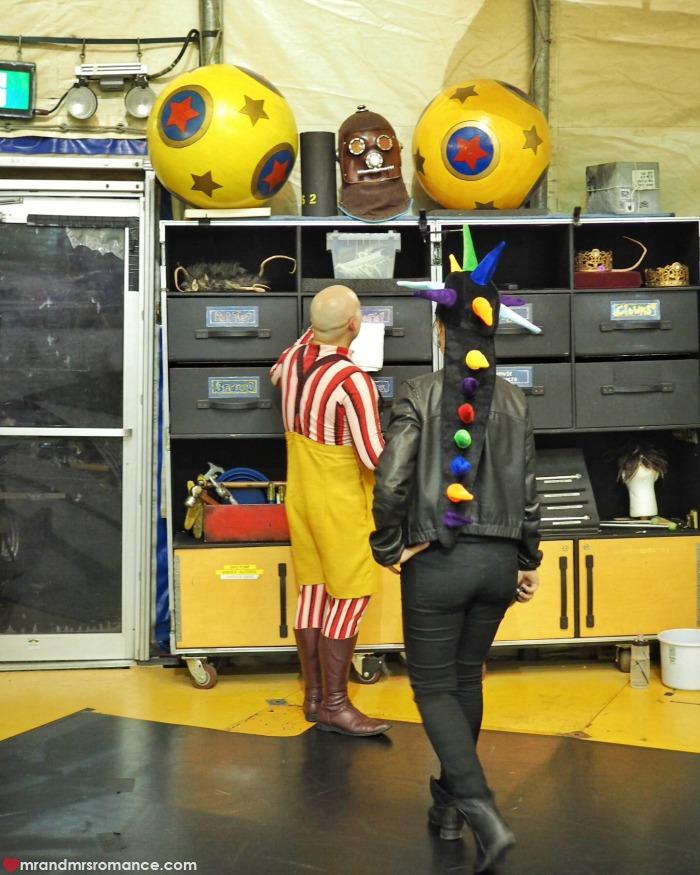 Mr & Mrs Romance - Cirque du Soleil Kooza - practice floor