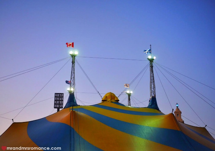 Mr & Mrs Romance - Cirque du Soleil Kooza - big top