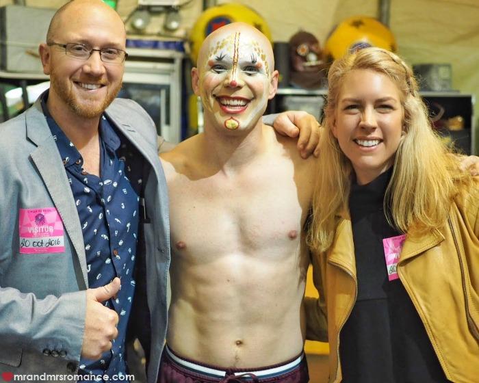 Mr & Mrs Romance - Cirque du Soleil Kooza - strongman