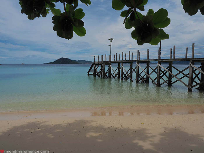 Mr and Mrs Romance - a quick itinerary for Sabah Borneo - Gaya Island Resort