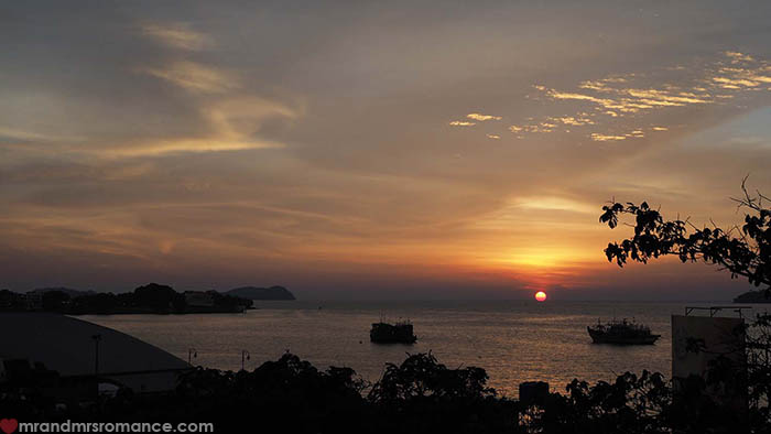 Mr and Mrs Romance - a quick itinerary for Sabah Borneo - Kota Kinabalu sunsets
