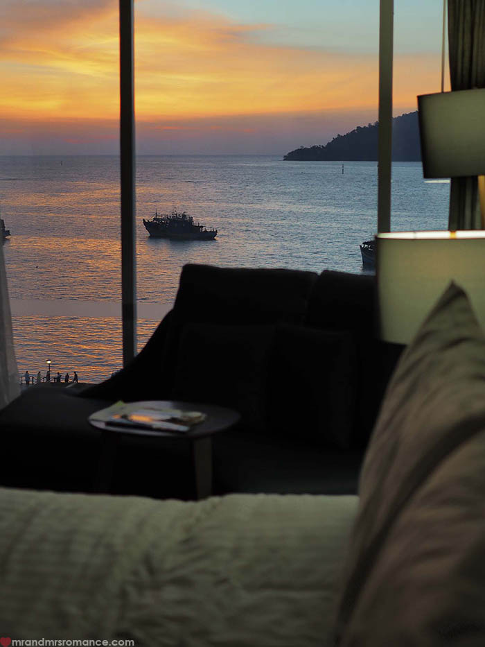 Mr and Mrs Romance - a quick itinerary for Sabah Borneo - Le Meridien Kota Kinabalu