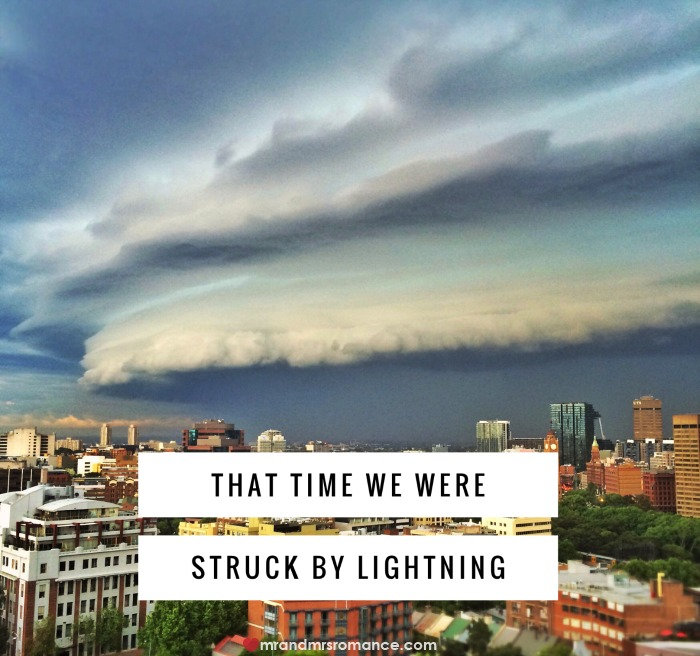 Mr & Mrs Romance - struck by lightning