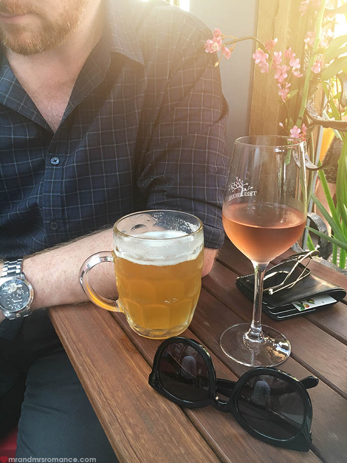 Mr & Mrs Romance - IG Edition - post-strategy-day-beer