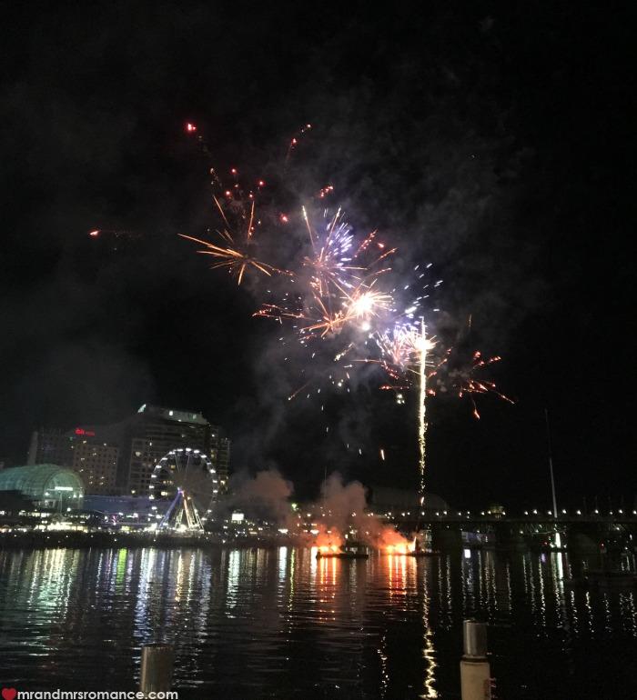 Mr & Mrs Romance - IG Edition - fireworks