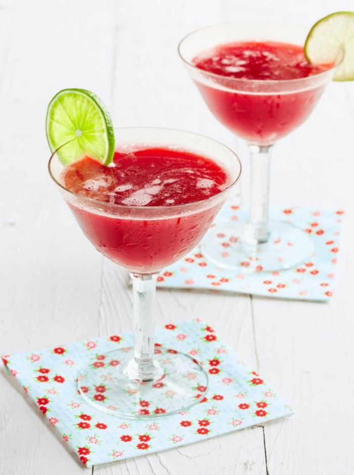Mr & Mrs Romance - summer cocktails and drinks - cl honeyed cherry