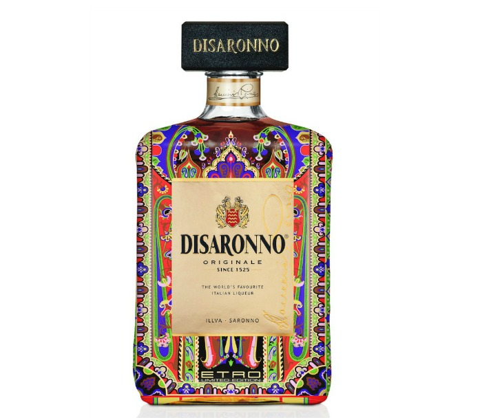 mr & mrs romance summer drinks - Disaronno Etro bottle 2