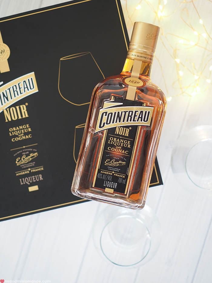 Mr and Mrs Romance - Cointreau Noir gift packs