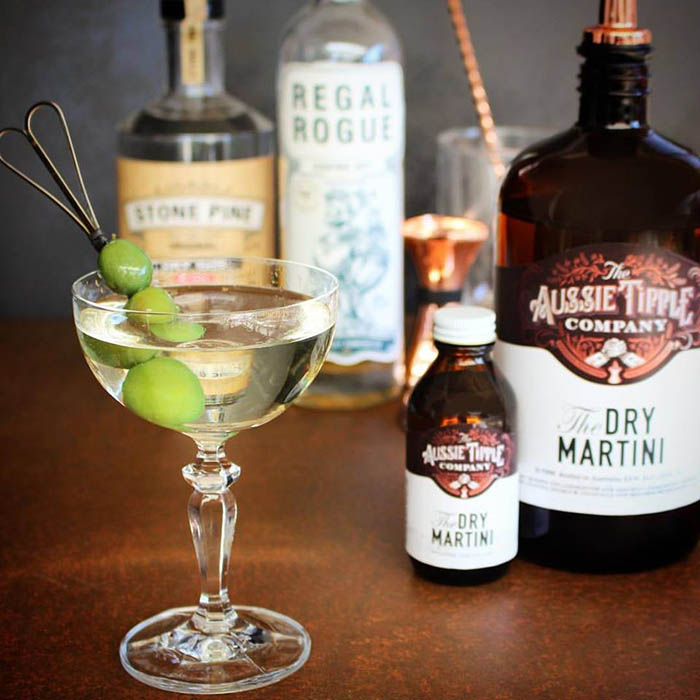The Aussie Tipple Company Pozible campaign - Dry Martinis