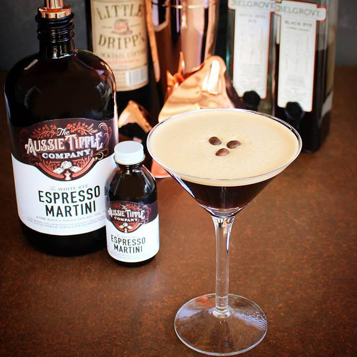 The Aussie Tipple Company Pozible campaign - Espresso Martinis