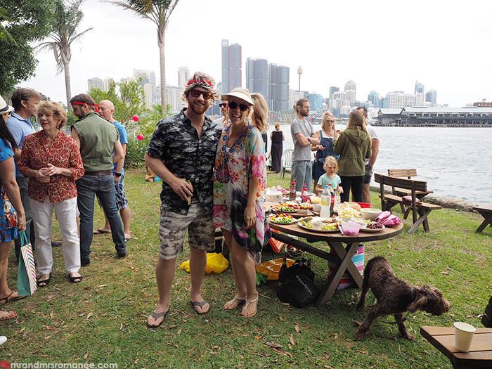 Mr and Mrs Romance - Chrissy birthday party