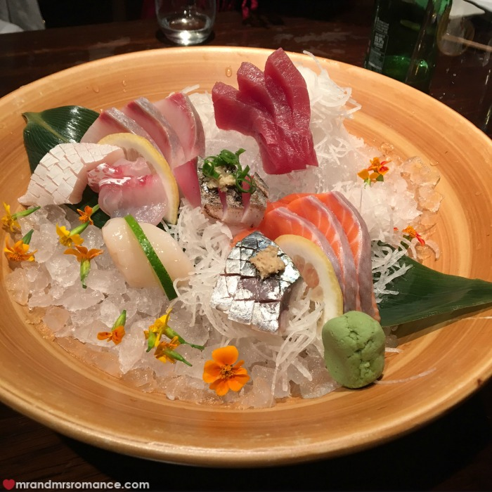 Mr & Mrs Romance - IG Edition - 7 Sake Restaurant sushi