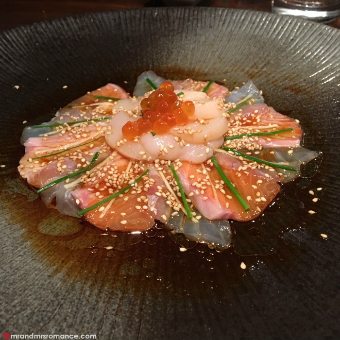 Mr & Mrs Romance - IG Edition - 8 Sake Restaurant salmon