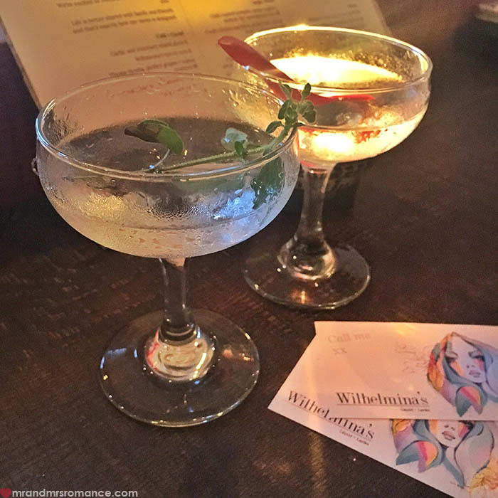 Mr and Mrs Romance - IG Edition - 10 Gin-uary martinis