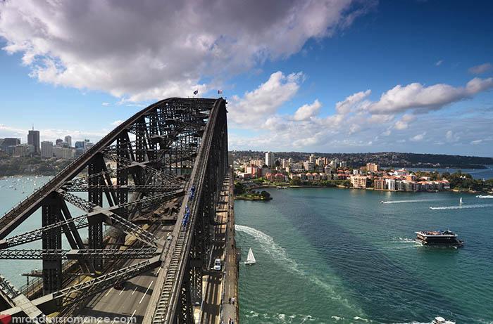 Mr and Mrs Romance - Sydney Harbour Bridge Pylon Lookout