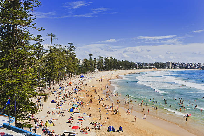 Mr and Mrs Romance - Things to do in Sydney - Manly Beach