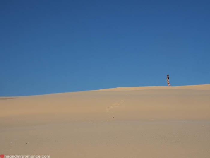 Mr & Mrs Romance - IG Edition - 12 Mrs R on Dunes