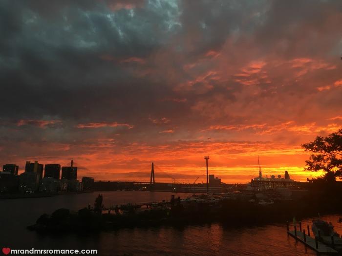 Mr & Mrs Romance - IG Edition - 2 sunset