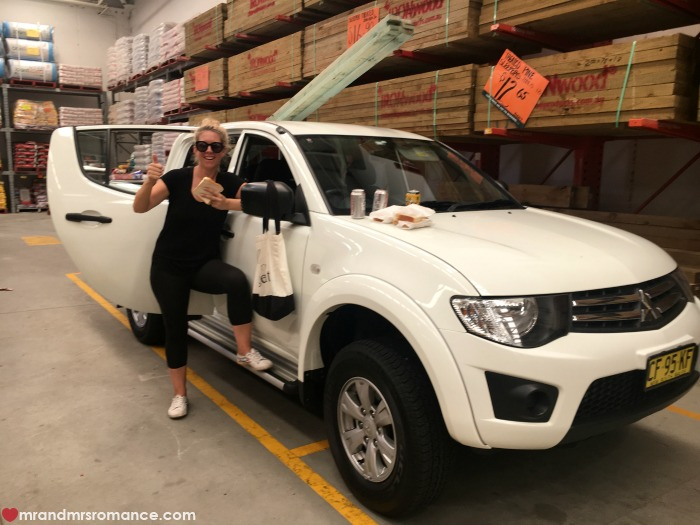 Mr & Mrs Romance - IG Edition - 5 lunch at Bunnings!